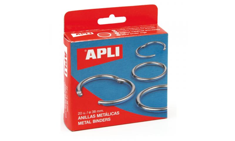 Apli Binding Rings, 32mm Box of 20