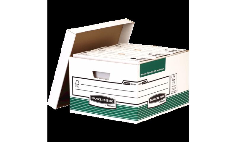 Fellowes System Storage Box 10pk - Green