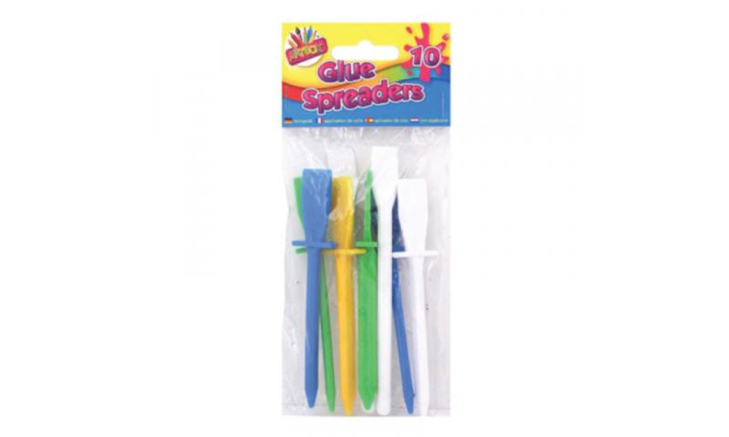 Art Box Craft Spreaders Asstd Colours, 10pk