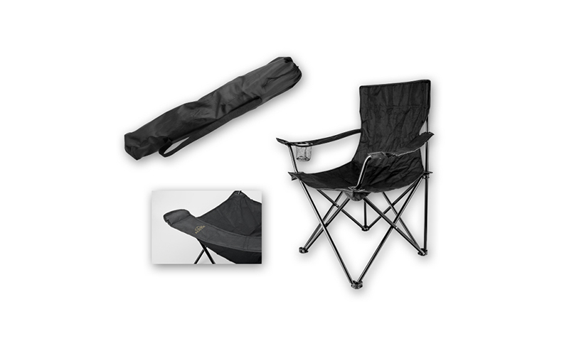 THRONE Branded Foldable Polyester Chair
