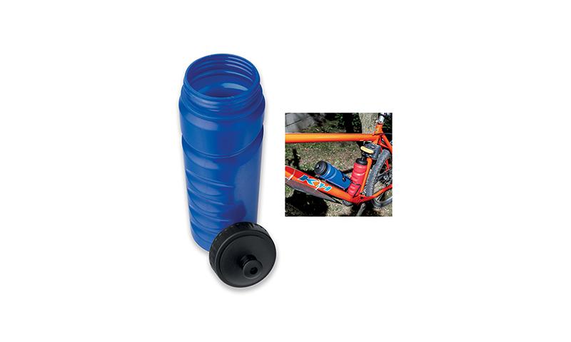 EVANS Printed Plastic Bike Bottle, Volume 750ml