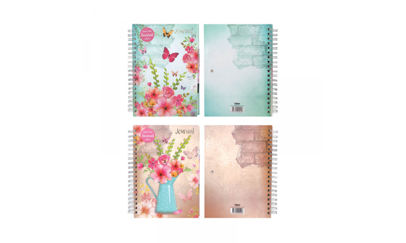 Just to Say A4 Wiro Journal Notebook with Pen, Cream 100g Pages   (NEW)