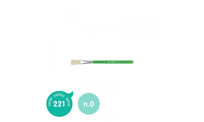 Milan 221 Short Handled Childrens Tempera & Glue Brush