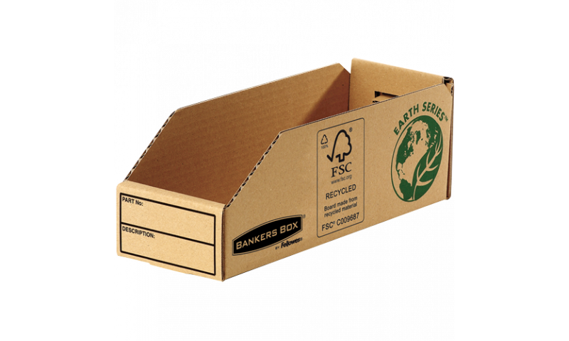 """Fellowes R-Kive Basics Recycled Card Parts Bin 4""""x 12"""" (New Lower Price for 2021)"""