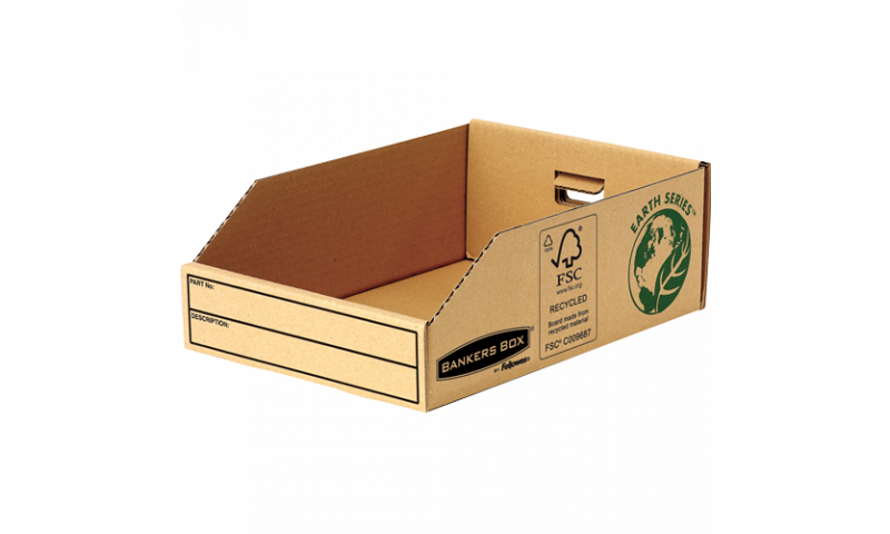 """Fellowes R-Kive Basics Recycled Card Parts Bin 8""""x 12"""" (New Lower Price for 2021)"""