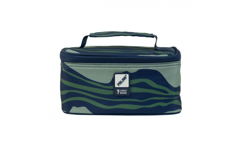 Milan Isothermical food bag with 1 lunch box Melt Green/Blue