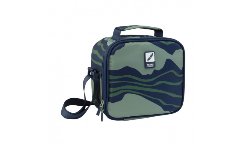 Milan Isothermical Carry food bag with lunch boxes Melt Blue/Green