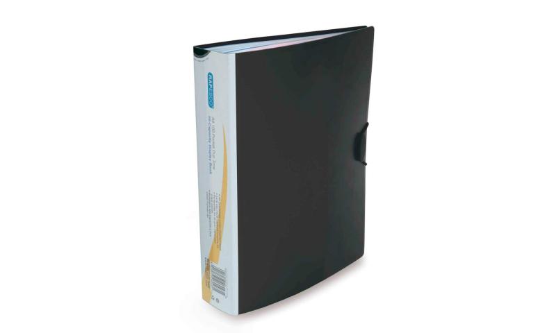 Rapesco 100 Pocket P/P Display Book with elastic closure.