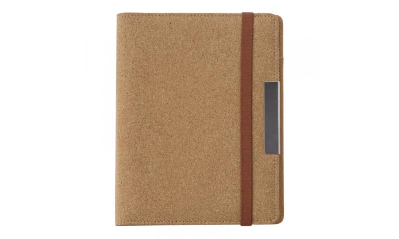 Santini Conference Folder Natural Cork Exterior Finish A5