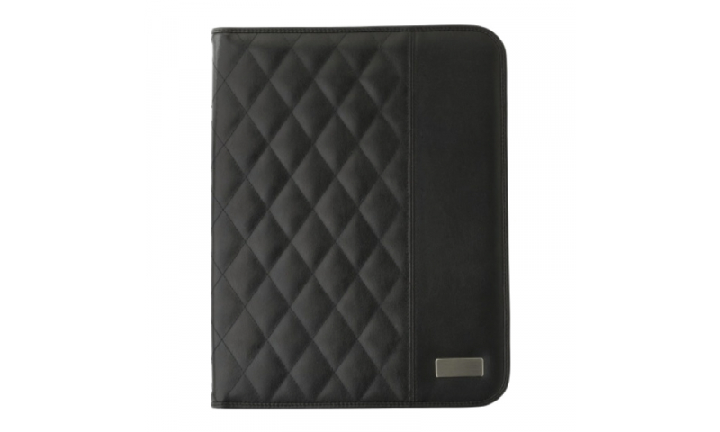 Santini Conference Folder Quilted Pattern PU Finish A5