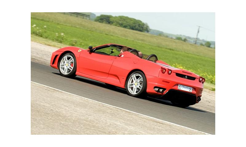 Ferrari and Lamborghini Driving Blast