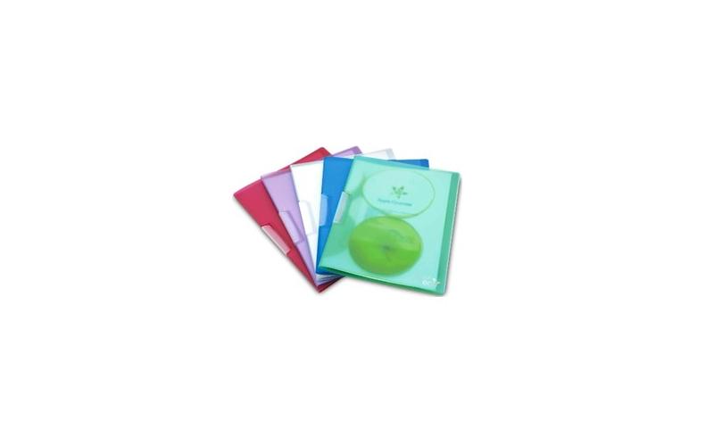 Rapesco Eco Pivot Clip File A4 (Pack = 5 Files) Assorted