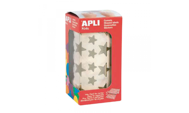 Apli Gold Star Educational Labels, Small & Large, 2360 on Roll