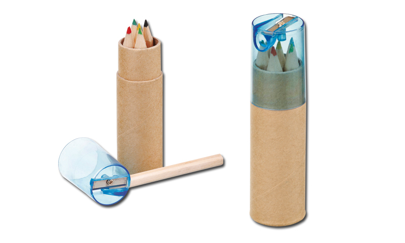 DEGAS Promotional 6pk Crayon in Tube & Sharpener