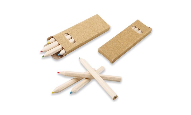 GOYEN Promotional Eco 4Pk Colouring Pencils Set