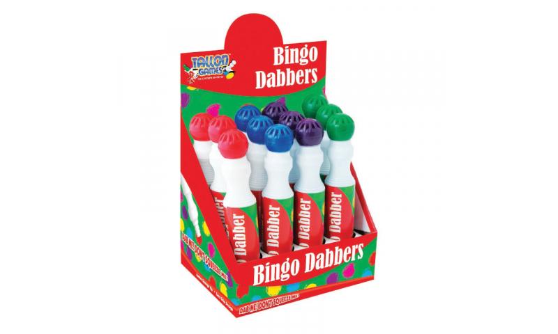 Large Bingo Dabbers, 4 Asstd