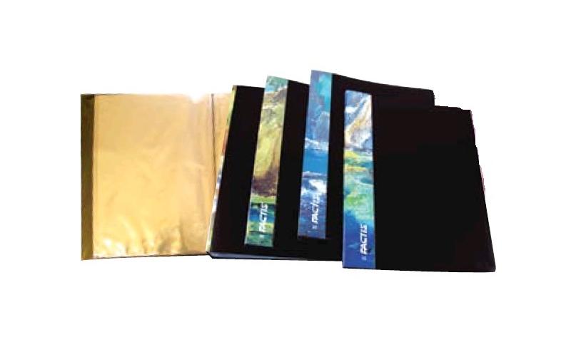 Factis PP Display Book 20 Pocket with Presentation Spine: On Special Offer