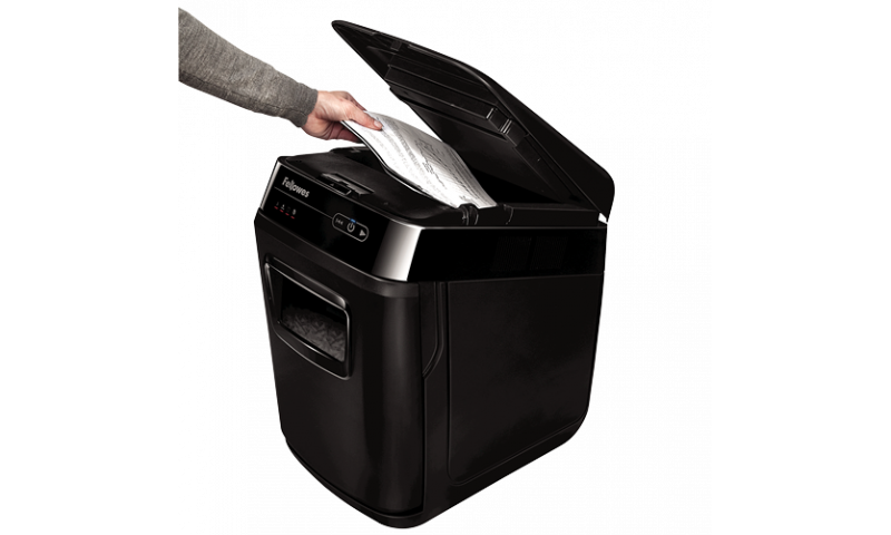 Fellowes AutoMax™ 150C Cross-Cut Office Shredder