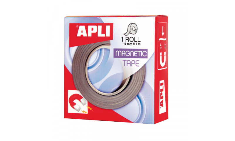 Apli Magnetic Adhesive Gridding Tape, 19mm x1M