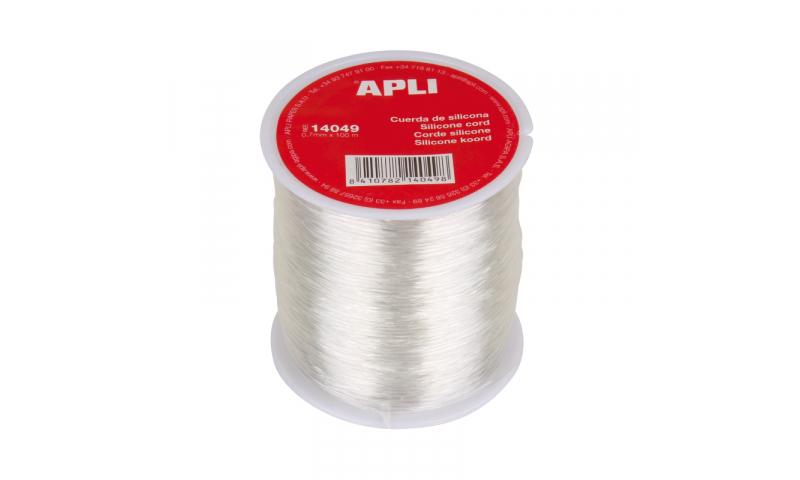 Apli Spool of Silicone Crafting Cord, 0.7mmx100m