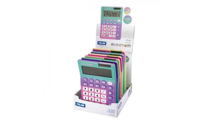 Milan Sunset Desk 12 Digit Touch Calculator