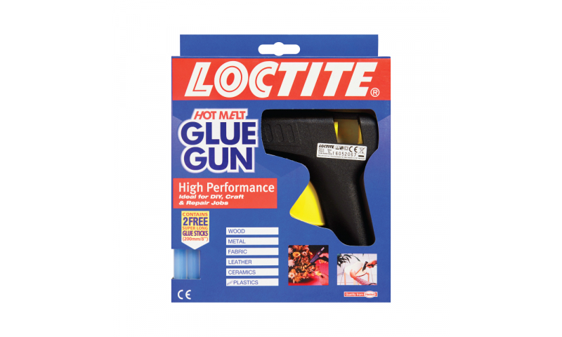 "Loctite Professional Glue Gun, Takes 8"" Full Strip Glue Sticks."