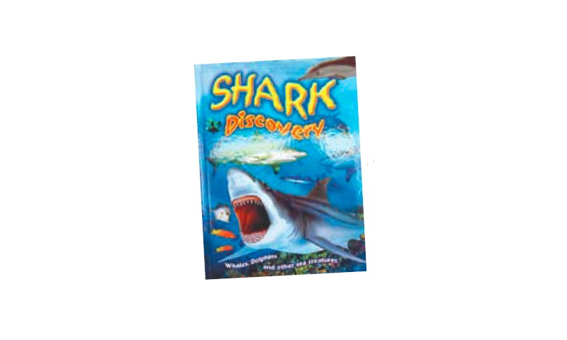 Shark Discovery Large Hardback Book, 277 x 210mm, 32 Descriptive pages: On Special Offer
