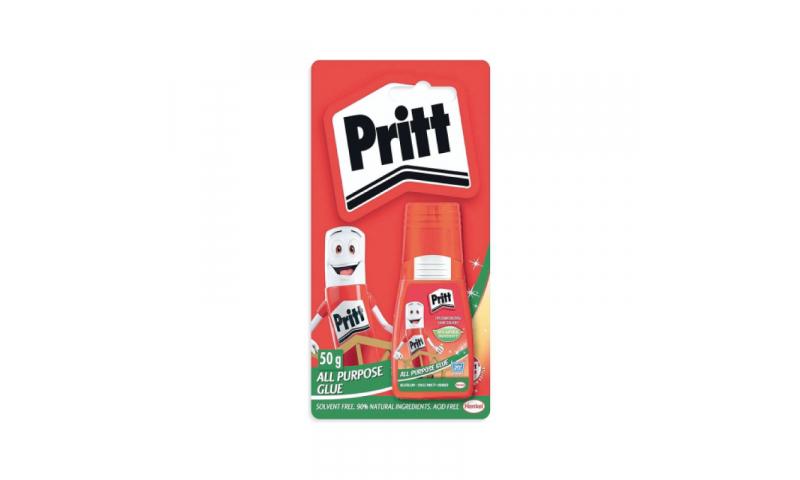 Pritt 50g, All Purpose Glue Carded