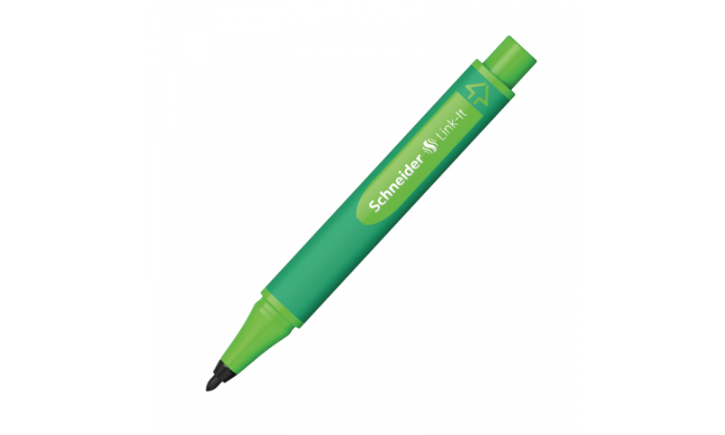 Schneider Link-it Biodegradable Fibre Tip Pen Black. (Clicks together with any other Link-it pen or Fineliner) 16 Colours to select.