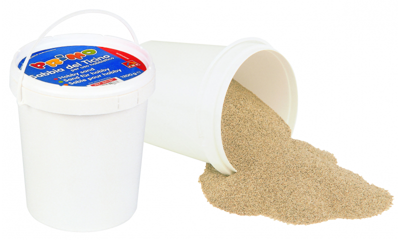 Plastic Bucket of Hobby Modelling Sand 1KG
