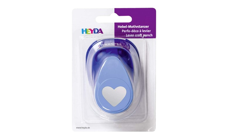 Heyda Lever Craft Punch Large Heart