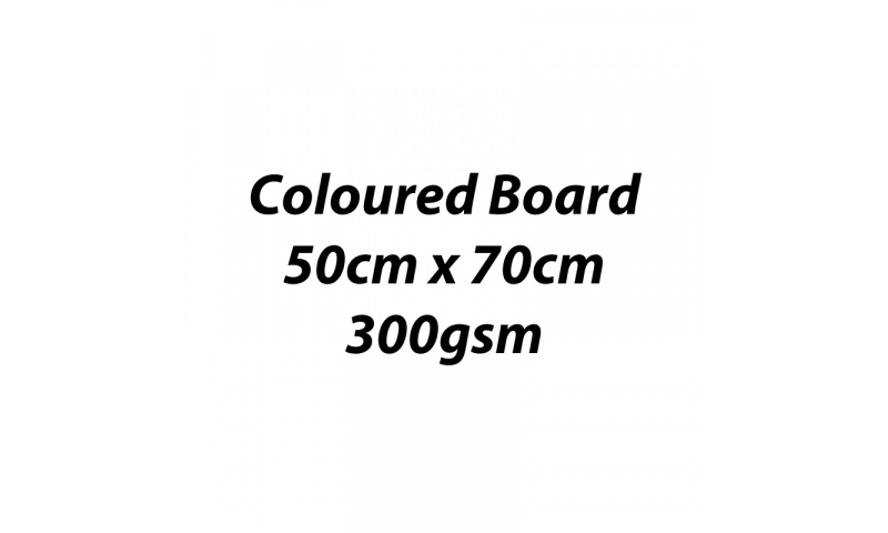 Heyda 100% Recycled Coloured Card  50x70mm 300 gsm barcoded 10 sh- White  (New Lower Price for 2021)
