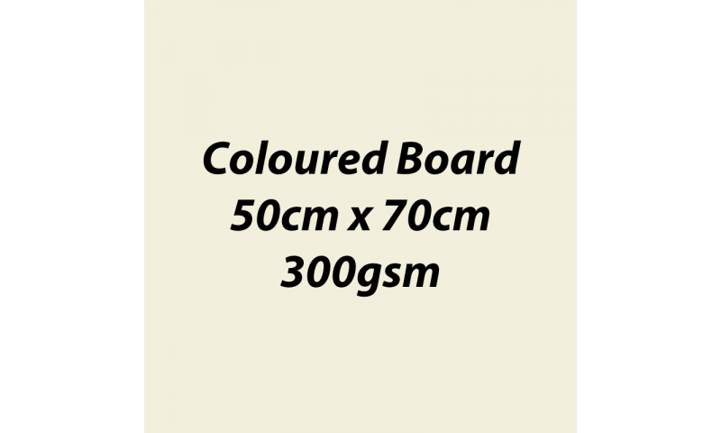 Heyda 100% Recycled Coloured Card  50x70mm 300 gsm barcoded 10 sh- Cream (New Lower Price for 2021)