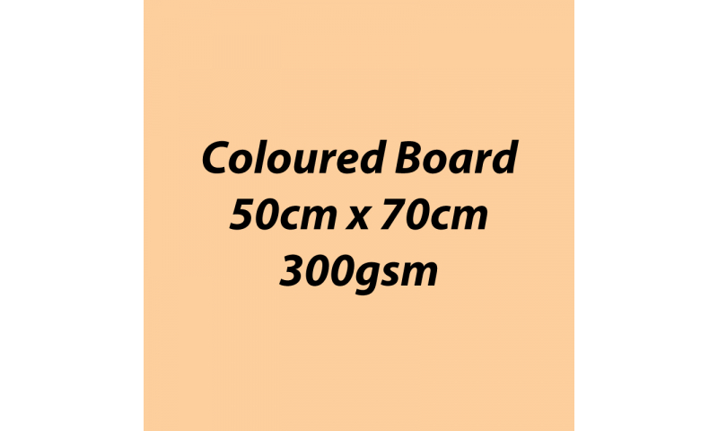 Heyda 100% Recycled Coloured Card  50x70mm 300 gsm barcoded 10 sh- Beige (New Lower Price for 2021)