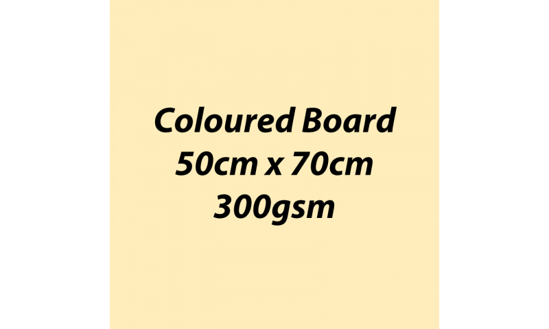 Heyda 100% Recycled Coloured Card  50x70mm 300 gsm barcoded 10 sh- Vanilla (New Lower Price for 2021)