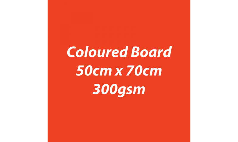 Heyda 100% Recycled Coloured Card  50x70mm 300 gsm barcoded 10 sh- Light Red (New Lower Price for 2021)