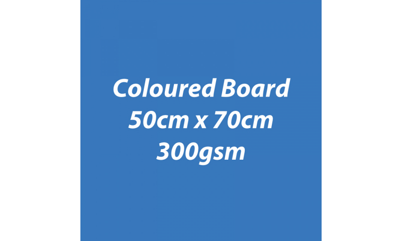 Heyda 100% Recycled Coloured Card  50x70mm 300 gsm barcoded 10 sh- Blue (New Lower Price for 2021)