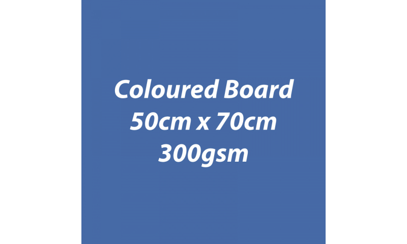 Heyda 100% Recycled Coloured Card  50x70mm 300 gsm barcoded 10 sh- Dark Blue (New Lower Price for 2021)