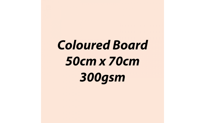 Heyda 100% Recycled Coloured Card  50x70mm 300 gsm barcoded 10 sh- Flesh (New Lower Price for 2021)
