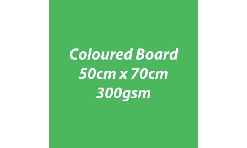 Heyda 100% Recycled Coloured Card  50x70mm 300 gsm barcoded 10 sh- Green (New Lower Price for 2021)