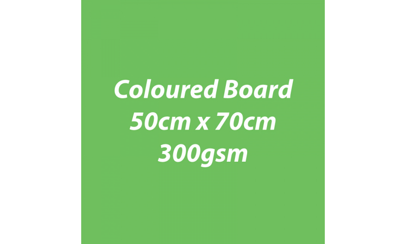 Heyda 100% Recycled Coloured Card  50x70mm 300 gsm barcoded 10 sh- Grass Green (New Lower Price for 2021)