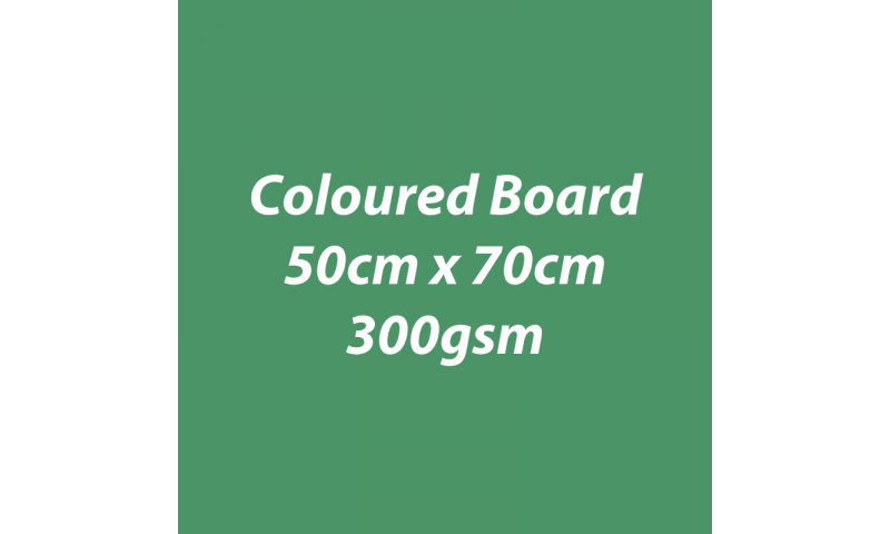 Heyda 100% Recycled Coloured Card  50x70mm 300 gsm barcoded 10 sh- Pine (New Lower Price for 2021)