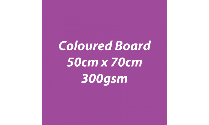 Heyda 100% Recycled Coloured Card  50x70mm 300 gsm barcoded 10 sh- Berry (New Lower Price for 2021)