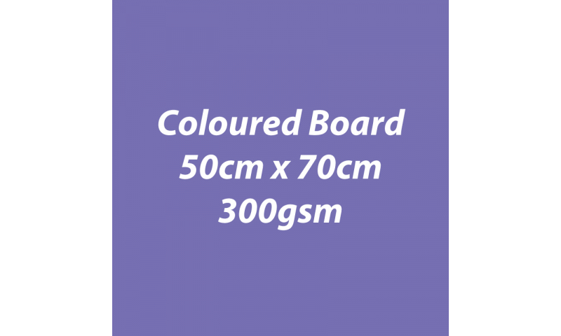 Heyda 100% Recycled Coloured Card  50x70mm 300 gsm barcoded 10 sh- Lilac (New Lower Price for 2021)