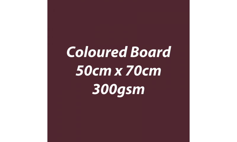 Heyda 100% Recycled Coloured Card  50x70mm 300 gsm barcoded 10 sh- Coffee (New Lower Price for 2021)
