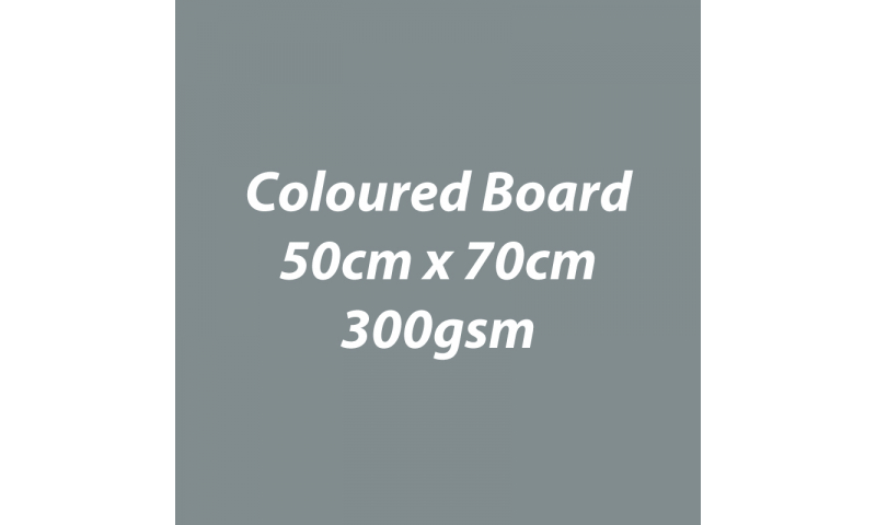 Heyda 100% Recycled Coloured Card  50x70mm 300 gsm barcoded 10 sh- Grey (New Lower Price for 2021)