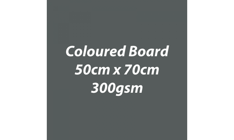 Heyda 100% Recycled Coloured Card  50x70mm 300 gsm barcoded 10 sh- Charcoal (New Lower Price for 2021)