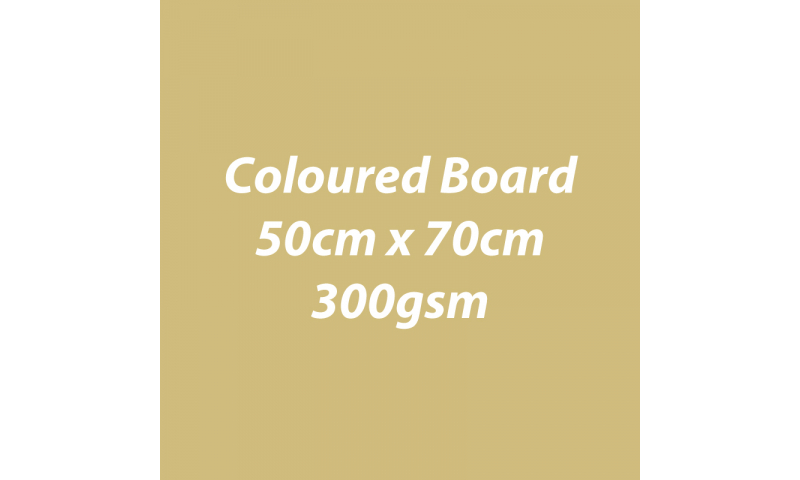 Heyda 100% Recycled Coloured Card  50x70mm 300 gsm barcoded 30 sh-Glossy Gold