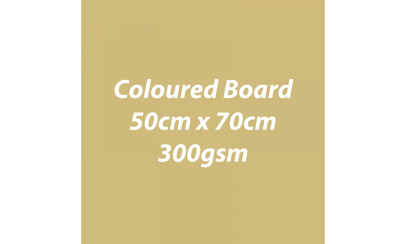 Heyda 100% Recycled Coloured Card  50x70mm 300 gsm barcoded 30 sh-Matt Gold
