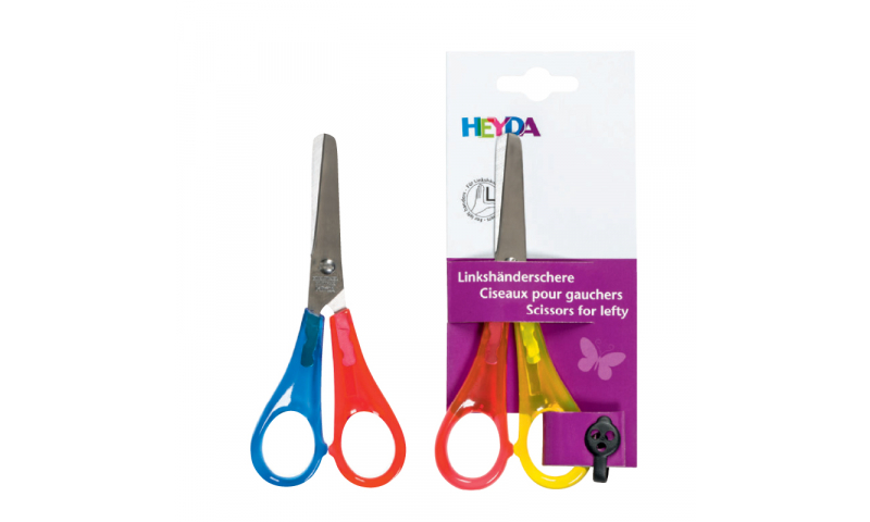 Brunnen Left Hander 13cm Scissors - Available as Round or Pointed Tip